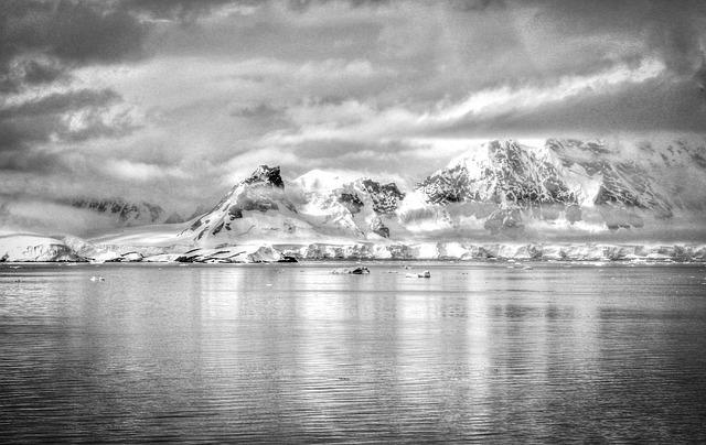 Antarctica Zwart Wit Natuur  Gratis foto op Pixabay