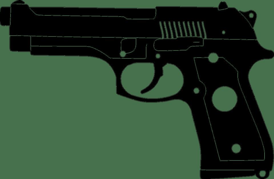 Pistol M9 Senjata Bayangan  Gambar gratis di Pixabay