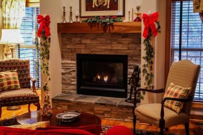 Navidad hogar familia