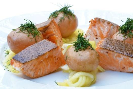 Salmone, Cibo, Zucca