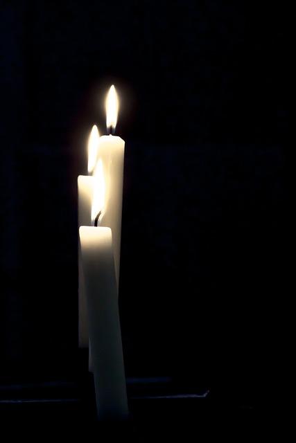 Free photo Candles Mourning Candlelight  Free Image on Pixabay  564768