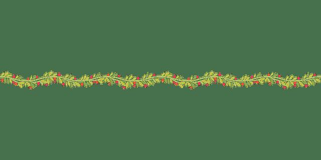 Free Vector Graphic Wavy Garland Decoration Free