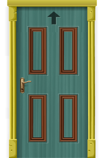 Free vector graphic: Door, Entrance, Front Door, Entry ...