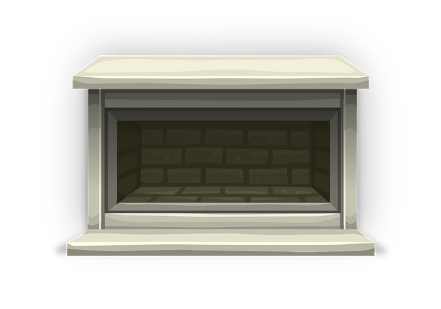 living room mantel modern light fixtures free vector graphic: fireplace, mantel, brick - image ...