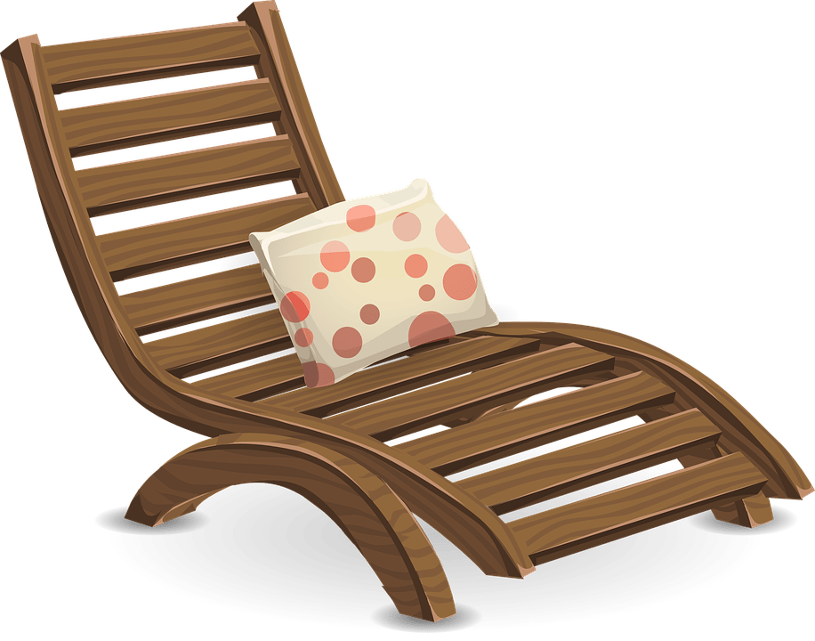 Deckchair Lawn Chair Lounge  Free vector graphic on Pixabay