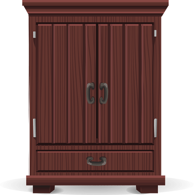 Free Vector Graphic Armoire, Storage, Wardrobe Free