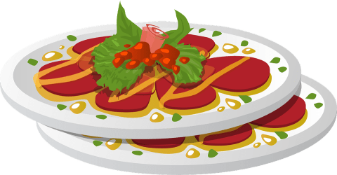 food plate clipart dish dinner clip platter meal pixabay vector meat graphic domain healthy vegetable