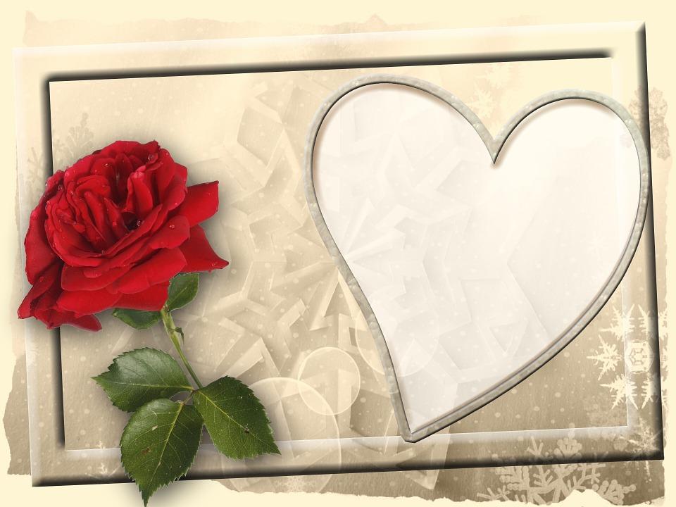 無償のイラストレーション バレンタイン グリーティング カード フレーム 画像のフレーム Pixabay