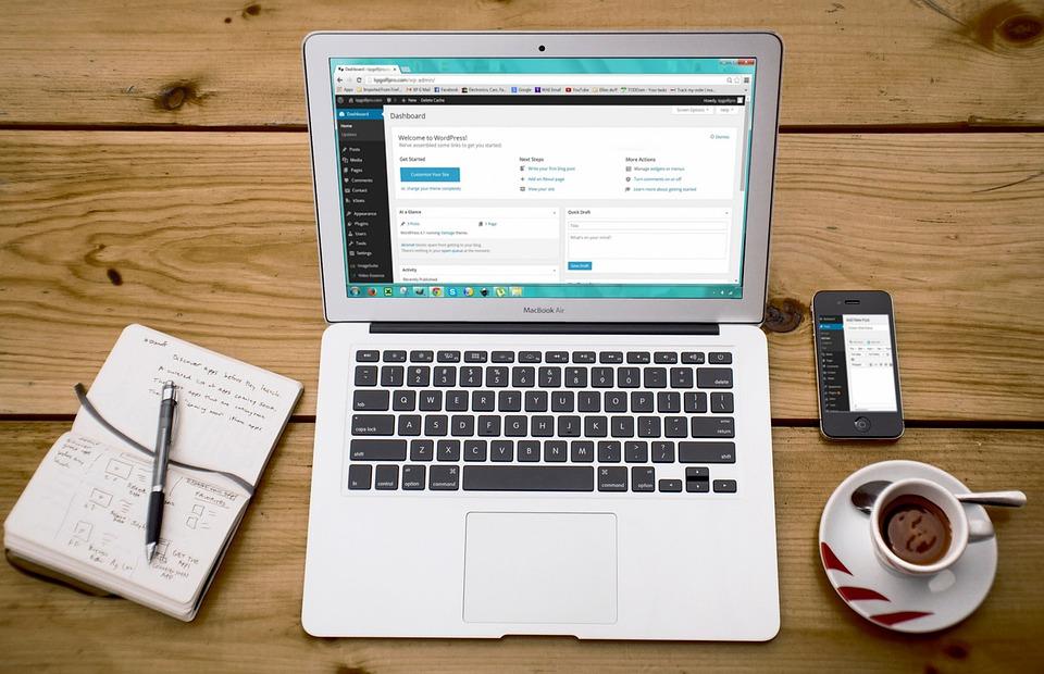 Il Computer Portatile, WordPress, Design WordPress