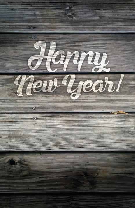 Happy New Year Wood Vintage Free Image On Pixabay