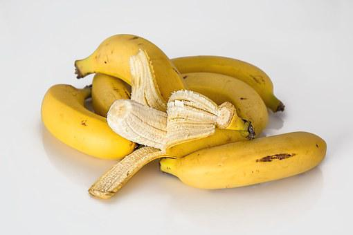 Banana, Frutta Tropicale, Giallo, Sano