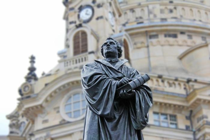 Martin-Luther, Kirche, Beten, Kirche Notre Dame