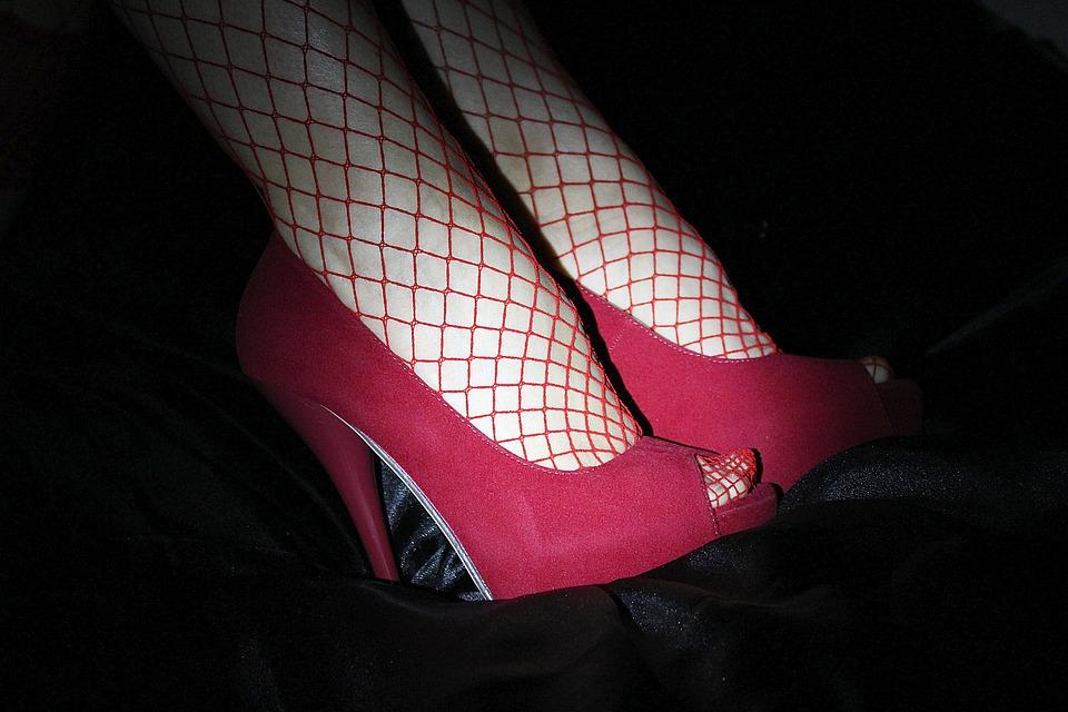Image result for Vintage Ankle Strap High Heel Pump