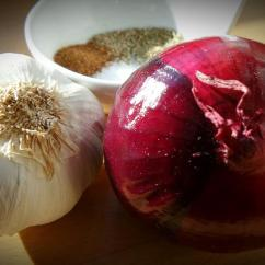 Granite Kitchen Simplehuman Trash Can Free Photo: Onion, Garlic, Spice, Herb, Healthy - ...