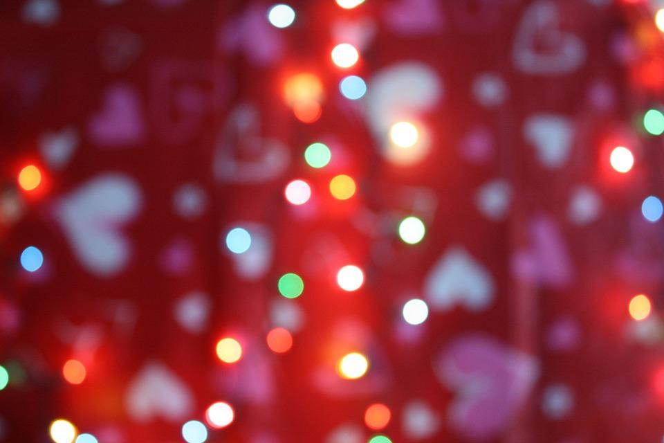 Decor Lights Valentine Valentines Free Photo On Pixabay
