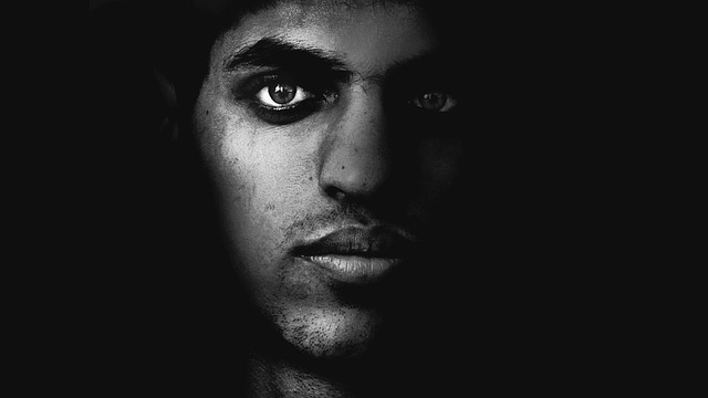 Face Men Black And White  Free photo on Pixabay