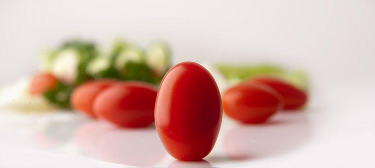 Tomatoes, Grape Tomatoes, Salad