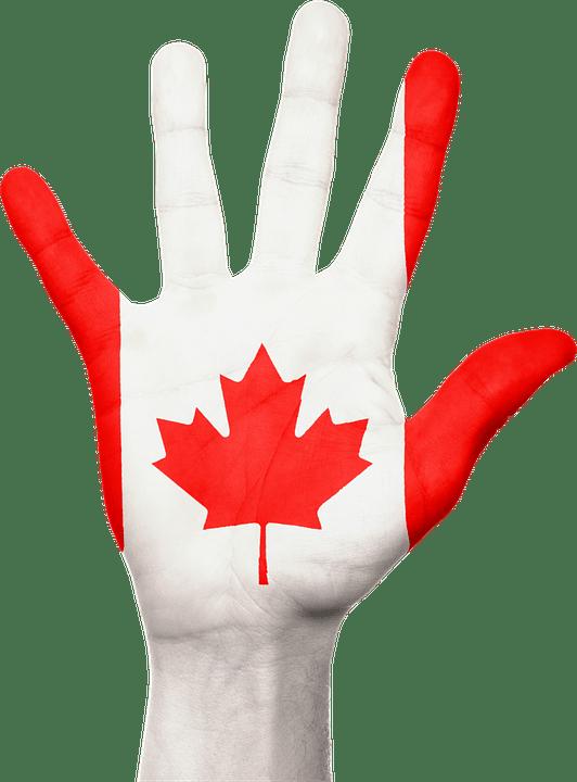 Niagara Falls Wallpaper Free Download Canada Hand Flag 183 Free Image On Pixabay