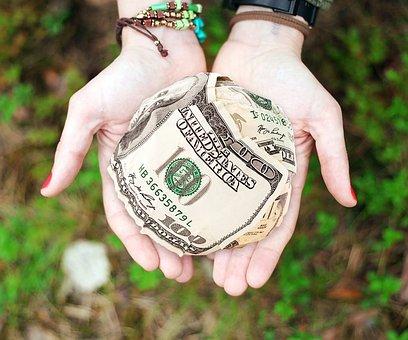 お金, 寄付, 利益, 与える, ヘルプ, チャリティー, 援助, 高める