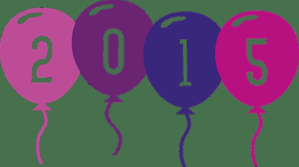 Image Vectorielle Gratuite Ballon Ballons 2015 Année Image