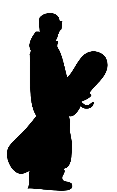 Snowboard Sport Silhouette  Free vector graphic on Pixabay