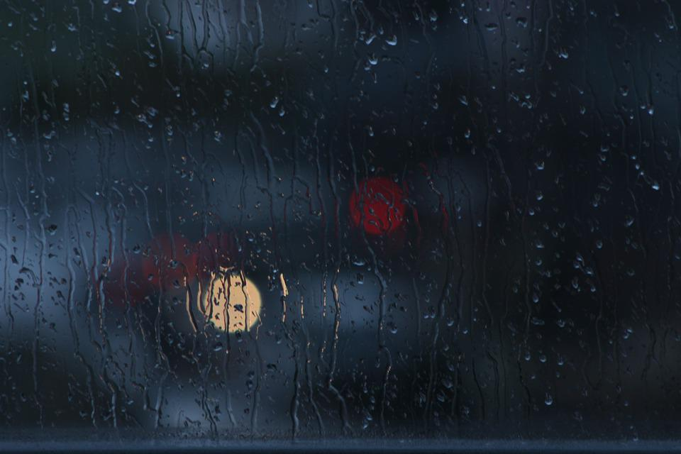 Wallpaper Hd Portrait Orientation Free Photo Rain Window Bokeh Glass Dark Free Image