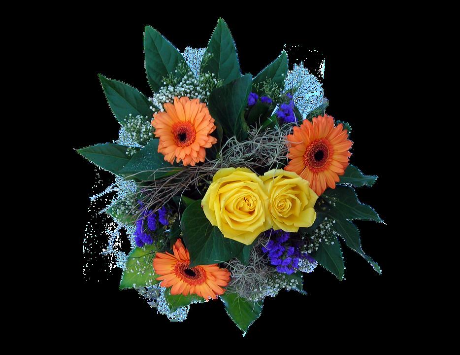 Bouquet Flowers Orange Free Image On Pixabay