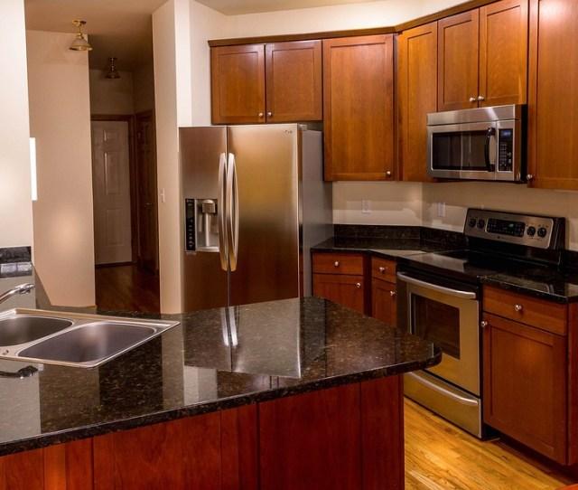 Kitchen Cabinets Countertop Granite Cherry Wood  C B Public Domain