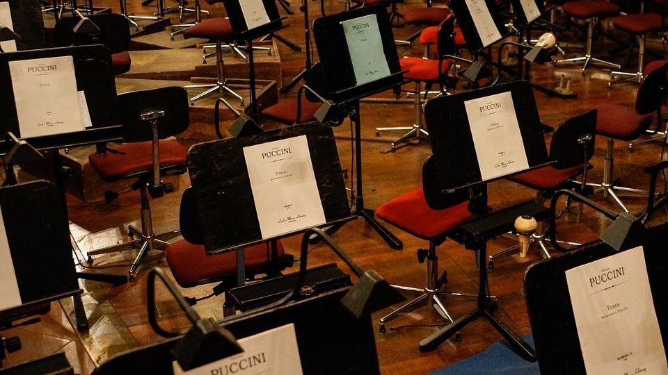 Free photo Orchestra Music Stand Music  Free Image on