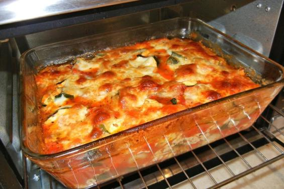 Gnocchi, Cotto, Formaggio, Zucchine, Pomodori, Cibo