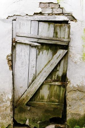 Door, Old, Wooden, Wood, Entrance, House, Grunge