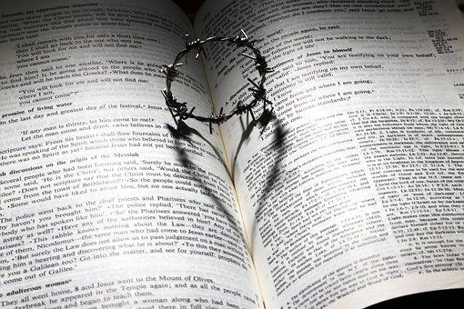 Love, Died, Cross, Thorns, Crown, Heart