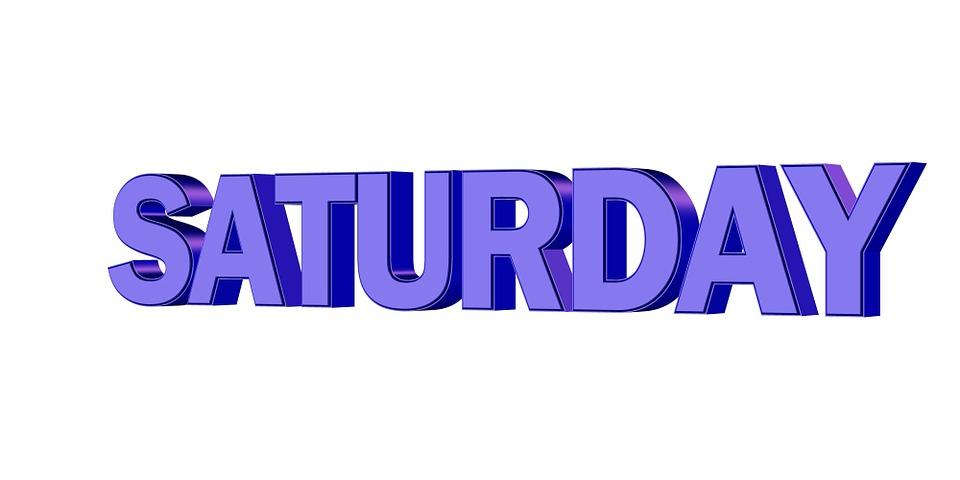 Saturday Day Week Free Image On Pixabay