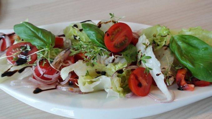Salad, Mixed, Tomato, Mixed Salad