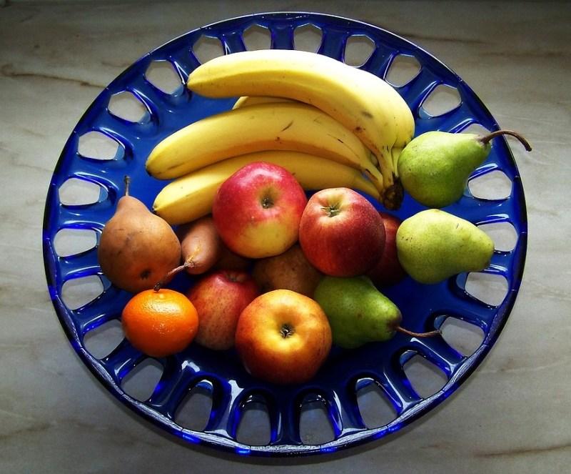 Fruit Platter, Mixed, Color