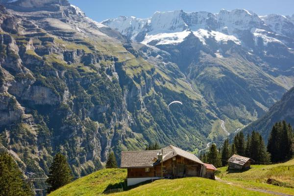 switzerland alps landscape free