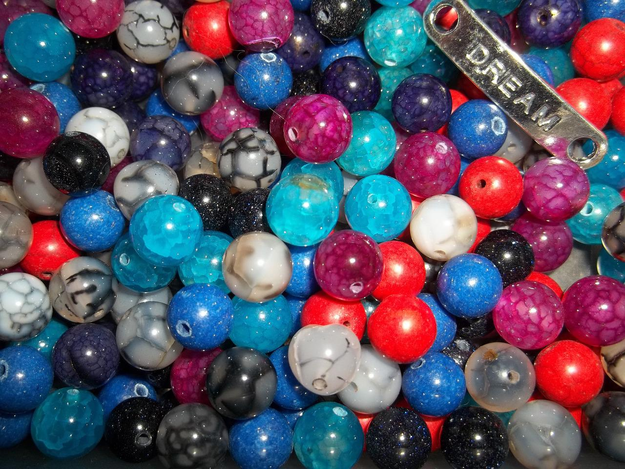 Beads Craft Gems Free Photo On Pixabay