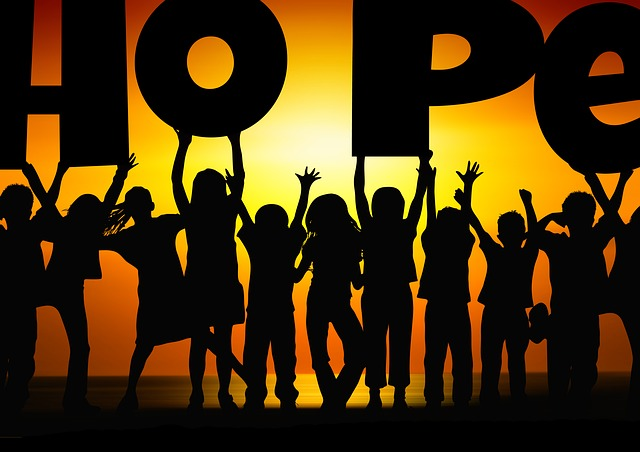 Children Silhouette Cheers Free Image On Pixabay