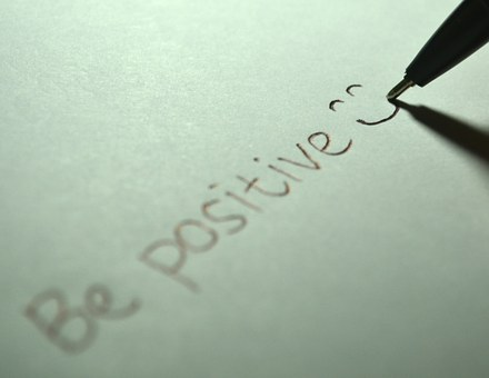 Positive, Be Positive, Smile, Smiling