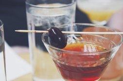 Cocktail, Bebidas, Cereja, Álcool