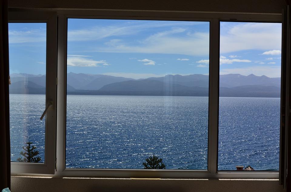 Kostenloses Foto Blick Fenster See  Kostenloses Bild