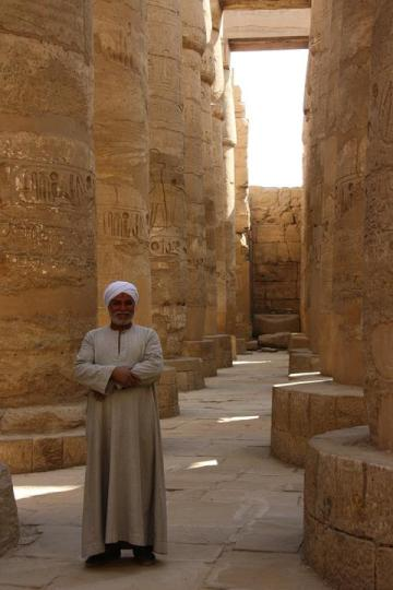 Egipto, Antiguas Columnas, Luxor, Historia