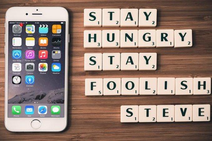Apple, Steve Jobs, Quotes, Scrabble
