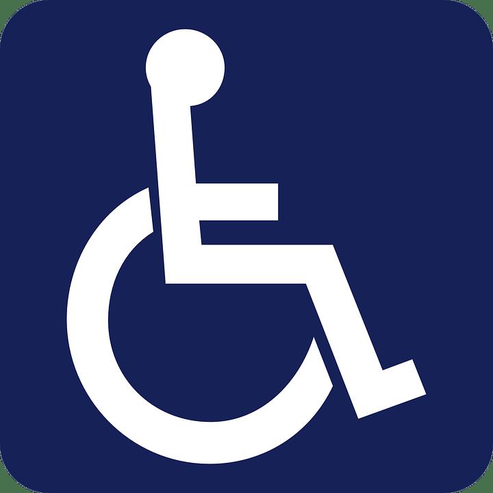 handicap sign wheelchair free