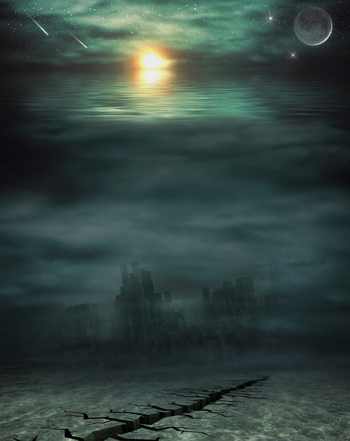 Free illustration Apocalypse Water Sea Setting  Free