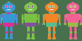 Robots, Equipos, Bots, Carácter, Tecnología, Persona