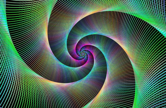 Trippy Animated Wallpapers Free Illustration Spiral Fractal Swirl Converge Free