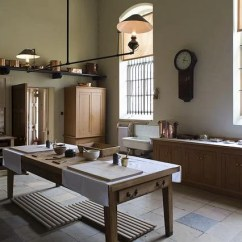 Industrial Kitchen Table Oak Cabinet Free Photo: Victorian Kitchen, Gas Light - Image On ...