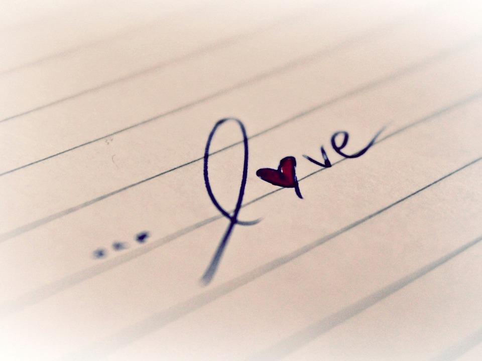 Love Word Heart  Free photo on Pixabay