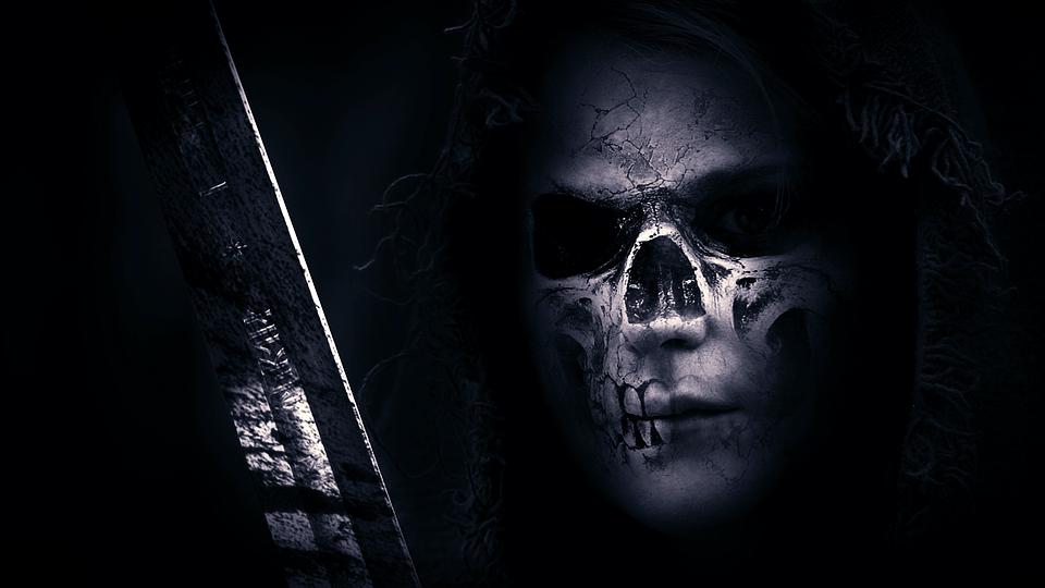 Skull Hood Sword  Free image on Pixabay